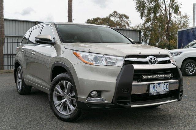 Used Toyota Kluger GXL (4x4), Oakleigh, 2015 Toyota Kluger GXL (4x4) GSU55R Wagon