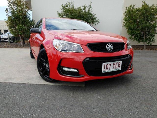 Used Holden Commodore SV6 Sportwagon Black, Robina, 2016 Holden Commodore SV6 Sportwagon Black VF II MY16 Wagon