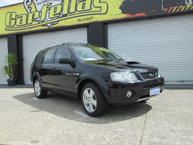 Used Ford Territory ghia turbo, O'Connor, 2006 Ford Territory ghia turbo Wagon