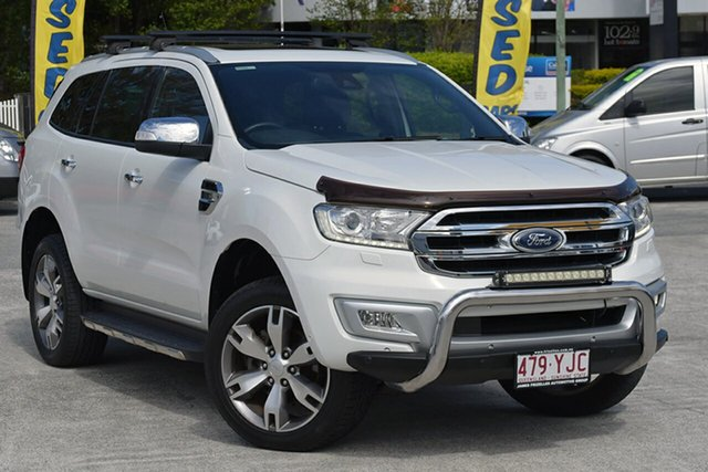 Used Ford Everest Titanium 4WD, Southport, 2015 Ford Everest Titanium 4WD Wagon