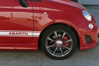 2016 Abarth 595 Dualogic Convertible.
