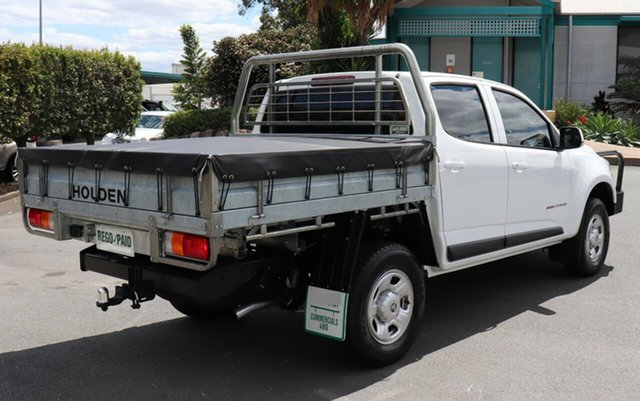 Used Holden Colorado LS Crew Cab, Acacia Ridge, 2016 Holden Colorado LS Crew Cab RG MY16 Cab Chassis