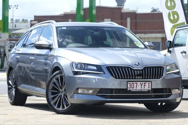 Demonstrator, Demo, Near New Skoda Superb 162TSI DSG, Bowen Hills, 2018 Skoda Superb 162TSI DSG Wagon