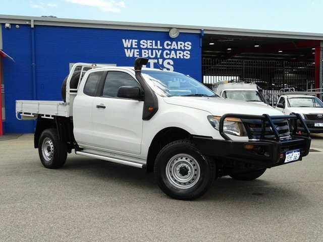 Discounted Used Ford Ranger XL Super Cab 4x2 Hi-Rider, Welshpool, 2013 Ford Ranger XL Super Cab 4x2 Hi-Rider Cab Chassis