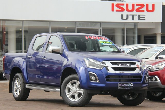 Demonstrator, Demo, Near New Isuzu D-MAX LS-U Crew Cab 4x2 High Ride, Southport, 2018 Isuzu D-MAX LS-U Crew Cab 4x2 High Ride Utility