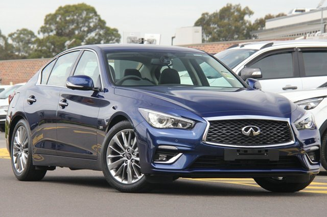 Discounted Demonstrator, Demo, Near New Infiniti Q50 Pure, Warwick Farm, 2018 Infiniti Q50 Pure Sedan