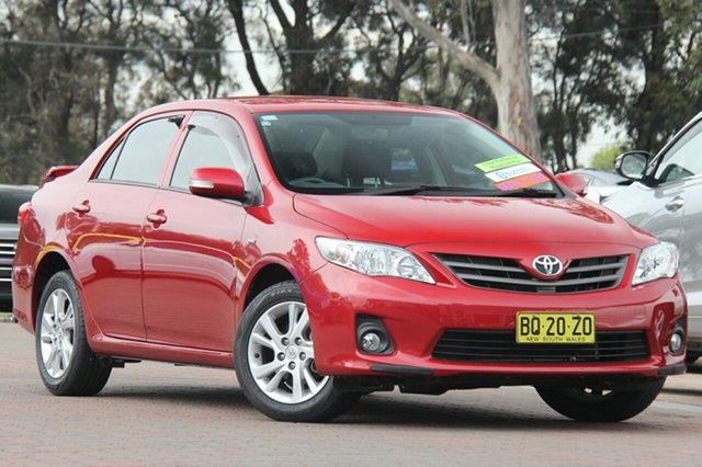 Used Toyota Corolla Ascent Sport, Southport, 2012 Toyota Corolla Ascent Sport Sedan