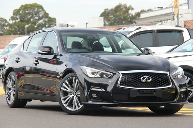 Discounted Demonstrator, Demo, Near New Infiniti Q50 Blue Sport, Warwick Farm, 2018 Infiniti Q50 Blue Sport Sedan
