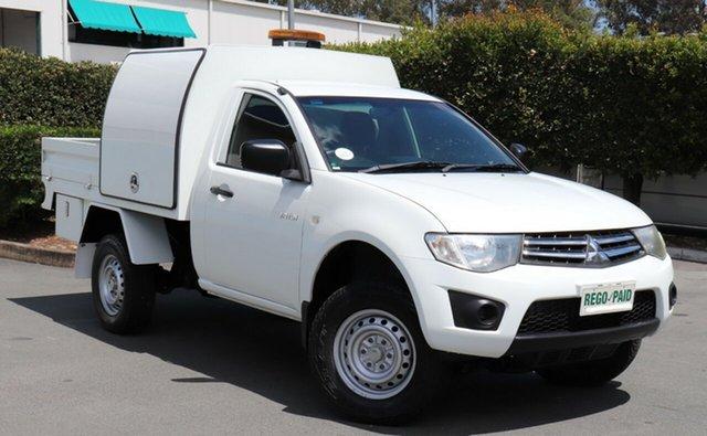 Used Mitsubishi Triton GLX 4x2, Acacia Ridge, 2012 Mitsubishi Triton GLX 4x2 MN MY12 Cab Chassis