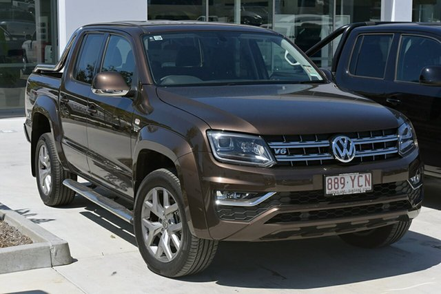 Demonstrator, Demo, Near New Volkswagen Amarok TDI550 4MOTION Perm Ultimate, Southport, 2018 Volkswagen Amarok TDI550 4MOTION Perm Ultimate Utility