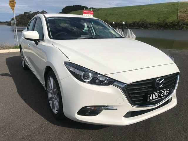 Demonstrator, Demo, Near New Mazda 3 SP25 SKYACTIV-Drive, Warrnambool East, 2018 Mazda 3 SP25 SKYACTIV-Drive Sedan