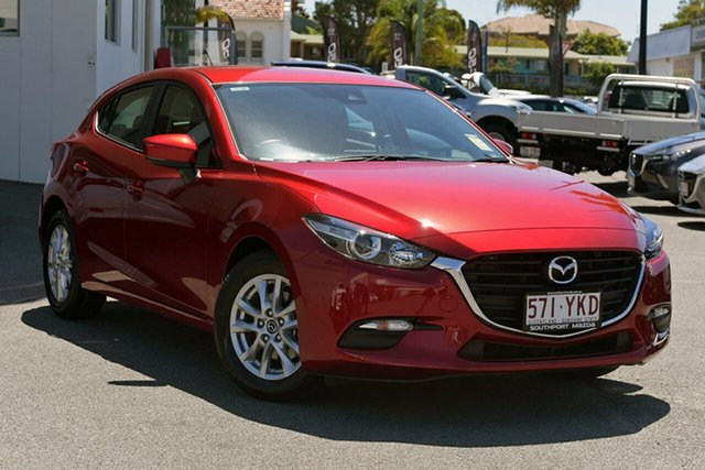 Demonstrator, Demo, Near New Mazda 3, Southport, 2018 Mazda 3 Hatchback