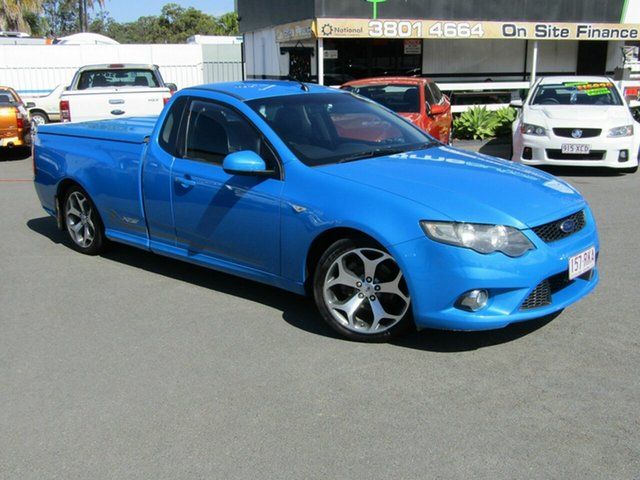 Used Ford Falcon XR6 50th Anniversary, Underwood, 2010 Ford Falcon XR6 50th Anniversary Utility