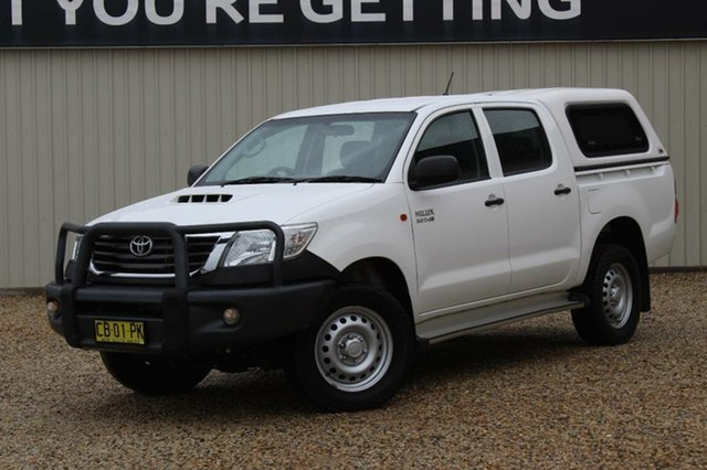 Used Toyota Hilux SR (4x4), Bathurst, 2014 Toyota Hilux SR (4x4) Dual Cab Pick-up