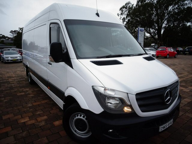 Discounted Used Mercedes-Benz Sprinter 313CDI High Roof LWB 7G-Tronic, Southport, 2016 Mercedes-Benz Sprinter 313CDI High Roof LWB 7G-Tronic Van