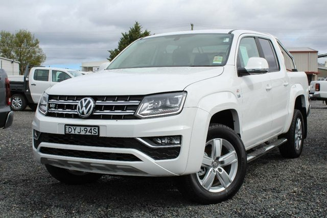 Demonstrator, Demo, Near New Volkswagen Amarok V6 TDI 550 Highline, Southport, 2018 Volkswagen Amarok V6 TDI 550 Highline Dual Cab Utility