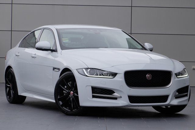 Demonstrator, Demo, Near New Jaguar XE 20t R-Sport, Newstead, 2017 Jaguar XE 20t R-Sport Sedan