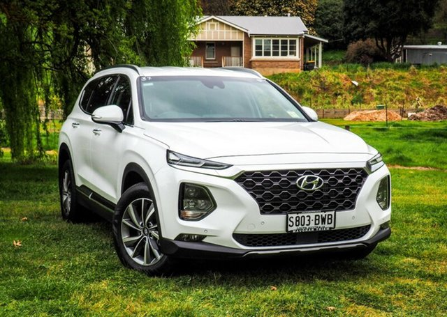 Discounted Demonstrator, Demo, Near New Hyundai Santa Fe Elite, Cheltenham, 2018 Hyundai Santa Fe Elite Wagon
