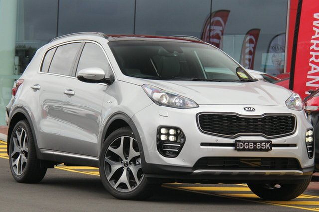 Demonstrator, Demo, Near New Kia Sportage GT-Line AWD, Southport, 2018 Kia Sportage GT-Line AWD SUV