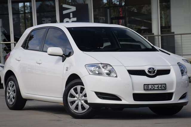 Used Toyota Corolla Ascent, Narellan, 2008 Toyota Corolla Ascent Hatchback