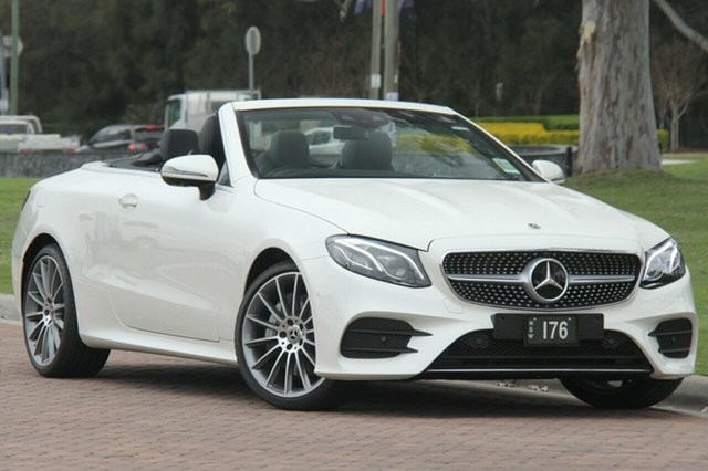 Demonstrator, Demo, Near New Mercedes-Benz E400 9G-TRONIC PLUS 4MATIC, Southport, 2017 Mercedes-Benz E400 9G-TRONIC PLUS 4MATIC Cabriolet
