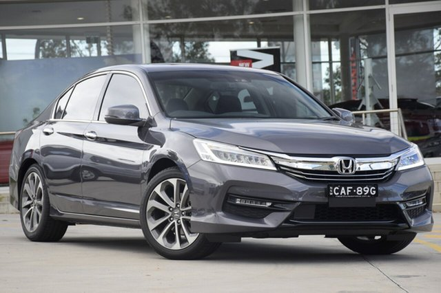 Discounted Demonstrator, Demo, Near New Honda Accord VTi-L, Southport, 2018 Honda Accord VTi-L Sedan