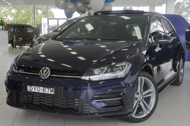 Demonstrator, Demo, Near New Volkswagen Golf, Waitara, 2018 Volkswagen Golf