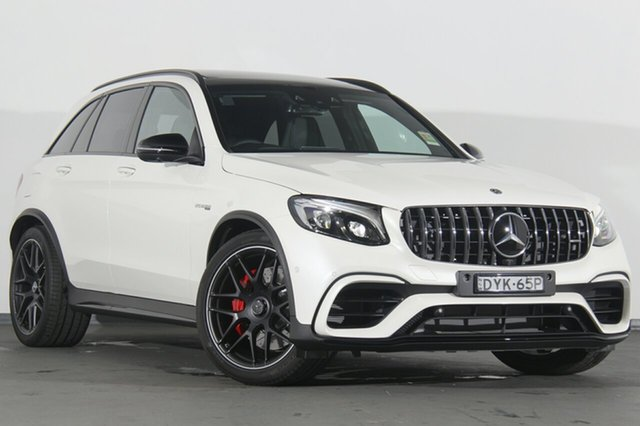 Demonstrator, Demo, Near New Mercedes-Benz GLC63 AMG SPEEDSHIFT MCT 4MATIC+ S, Warwick Farm, 2018 Mercedes-Benz GLC63 AMG SPEEDSHIFT MCT 4MATIC+ S SUV
