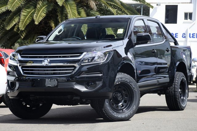 Demonstrator, Demo, Near New Holden Colorado 4X4 LS, Brookvale, 2019 Holden Colorado 4X4 LS Dual Cab
