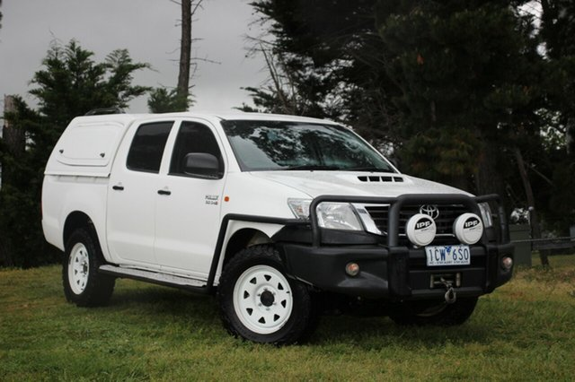 Used Toyota Hilux SR Double Cab, Officer, 2014 Toyota Hilux SR Double Cab Utility