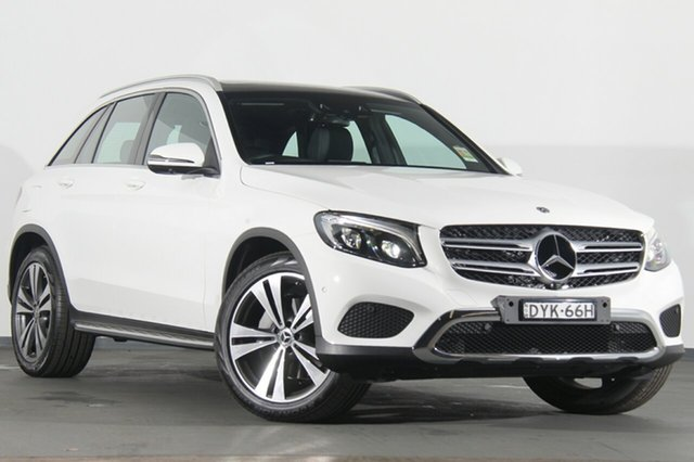 Demonstrator, Demo, Near New Mercedes-Benz GLC220 d 9G-Tronic 4MATIC, Southport, 2018 Mercedes-Benz GLC220 d 9G-Tronic 4MATIC SUV
