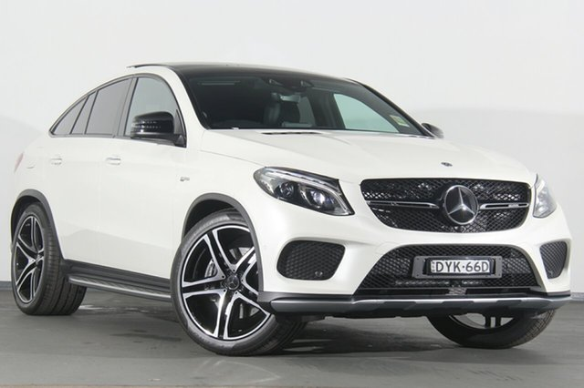Demonstrator, Demo, Near New Mercedes-Benz GLE43 AMG Coupe 9G-Tronic 4MATIC, Narellan, 2018 Mercedes-Benz GLE43 AMG Coupe 9G-Tronic 4MATIC SUV