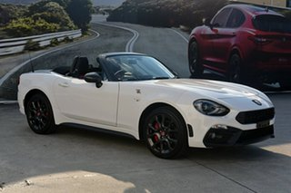 2018 Abarth 124 Spider Roadster.