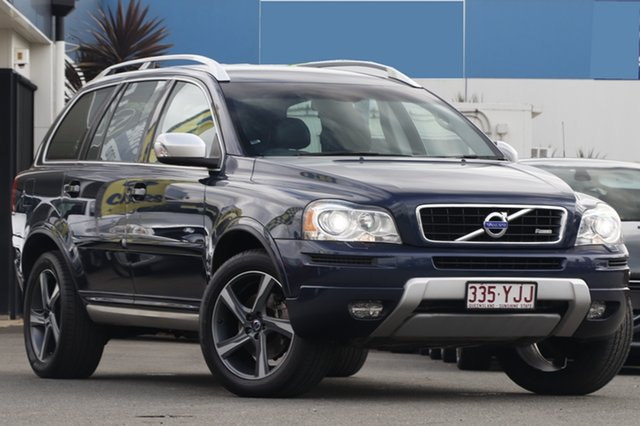 Used Volvo XC90 D5 Geartronic R-Design, Bowen Hills, 2014 Volvo XC90 D5 Geartronic R-Design Wagon