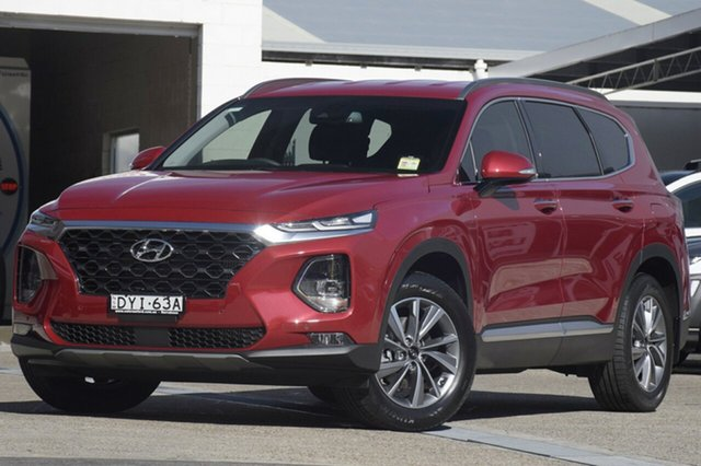 Demonstrator, Demo, Near New Hyundai Santa Fe Elite, Brookvale, 2018 Hyundai Santa Fe Elite Wagon