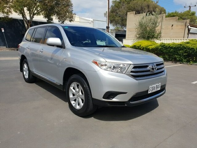 Used Toyota Kluger KX-R (4x4) 7 Seat, Melrose Park, 2011 Toyota Kluger KX-R (4x4) 7 Seat Wagon