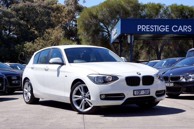 Used BMW 125i Sport Line, Balwyn, 2015 BMW 125i Sport Line Hatchback