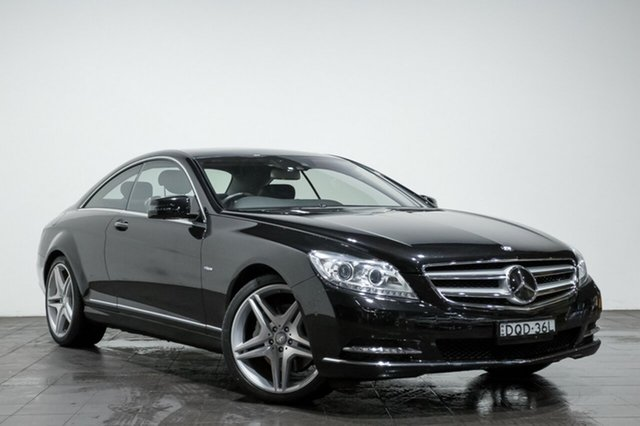 Used Mercedes-Benz CL500 BlueEFFICIENCY, Rozelle, 2013 Mercedes-Benz CL500 BlueEFFICIENCY Coupe