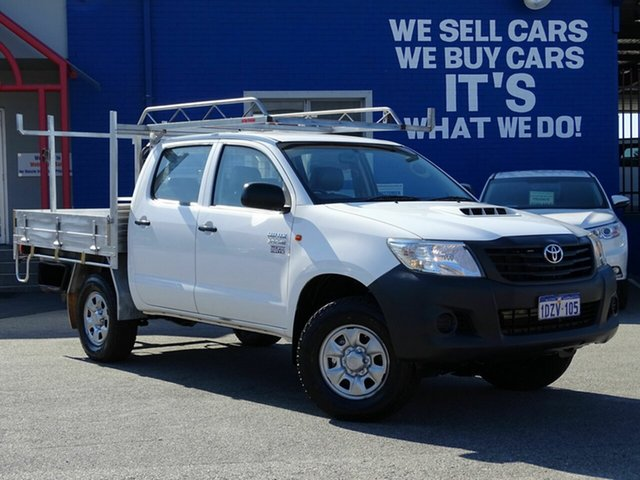 Used Toyota Hilux Workmate Double Cab, Welshpool, 2012 Toyota Hilux Workmate Double Cab Utility