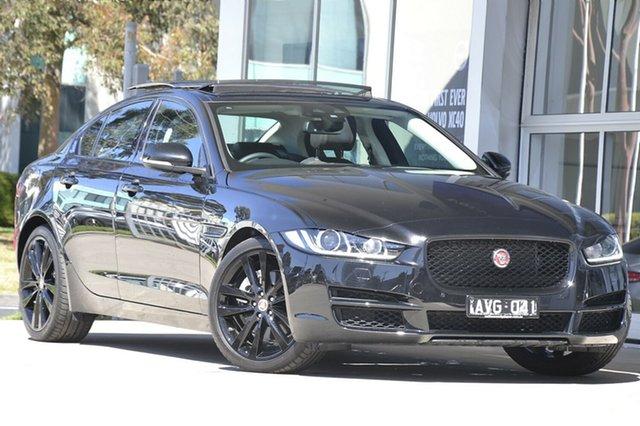 Demonstrator, Demo, Near New Jaguar XE 20T Prestige, Port Melbourne, 2018 Jaguar XE 20T Prestige Sedan