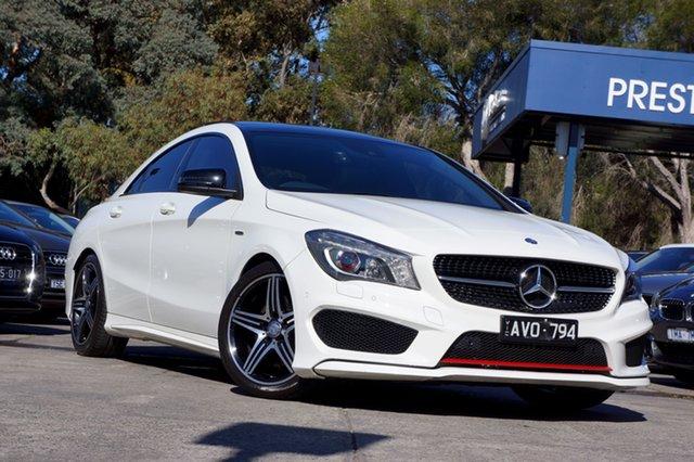 Used Mercedes-Benz CLA250 Sport DCT 4MATIC, Balwyn, 2014 Mercedes-Benz CLA250 Sport DCT 4MATIC Coupe