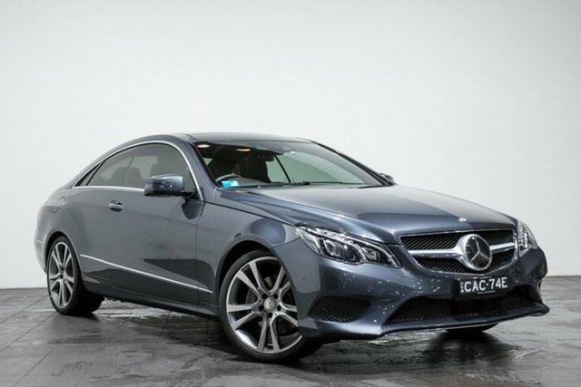 Used Mercedes-Benz E250 CDI 7G-Tronic +, Rozelle, 2014 Mercedes-Benz E250 CDI 7G-Tronic + Coupe