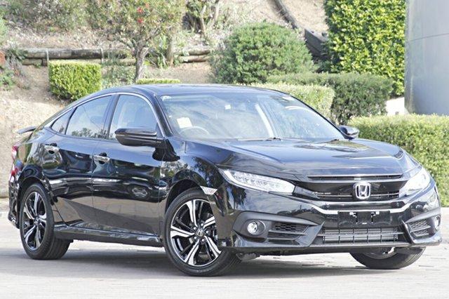 Discounted Demonstrator, Demo, Near New Honda Civic RS, Warwick Farm, 2018 Honda Civic RS Sedan