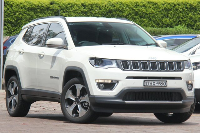 Discounted Demonstrator, Demo, Near New Jeep Compass Limited, Southport, 2018 Jeep Compass Limited SUV