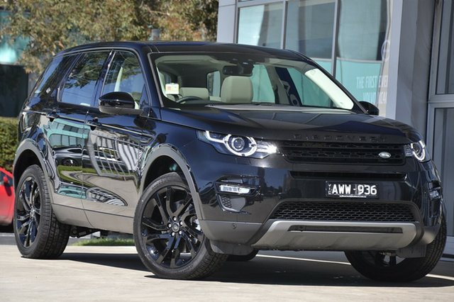 Demonstrator, Demo, Near New Land Rover Discovery Sport SD4 HSE Luxury, Port Melbourne, 2018 Land Rover Discovery Sport SD4 HSE Luxury Wagon