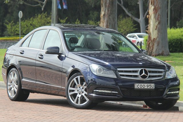 Discounted Used Mercedes-Benz C250 BlueEFFICIENCY 7G-Tronic + Avantgarde, Southport, 2012 Mercedes-Benz C250 BlueEFFICIENCY 7G-Tronic + Avantgarde Sedan