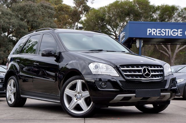 Used Mercedes-Benz ML300 CDI BlueEFFICIENCY AMG Sports, Balwyn, 2011 Mercedes-Benz ML300 CDI BlueEFFICIENCY AMG Sports Wagon