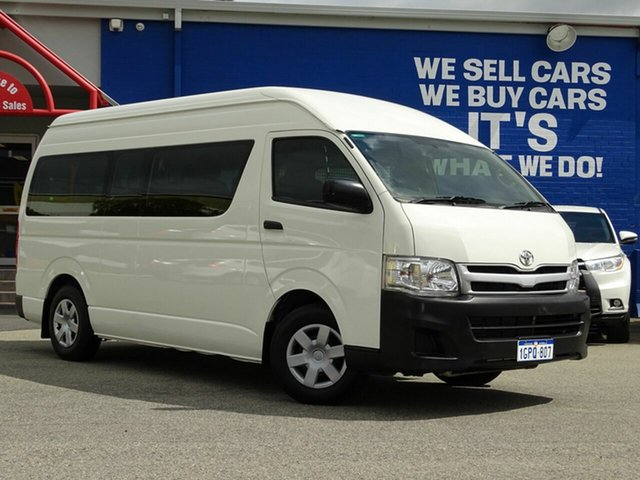 Used Toyota Hiace Commuter High Roof Super LWB, Welshpool, 2010 Toyota Hiace Commuter High Roof Super LWB Bus