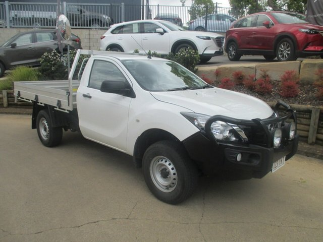 Discounted Demonstrator, Demo, Near New Mazda BT-50 XT, Toowoomba, 2018 Mazda BT-50 XT Cab Chassis