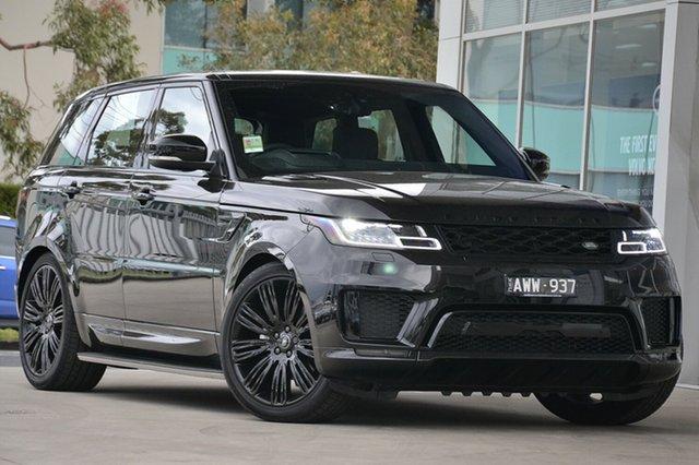 Demonstrator, Demo, Near New Land Rover Range Rover Sport SDV6 CommandShift HSE Dynamic, Port Melbourne, 2018 Land Rover Range Rover Sport SDV6 CommandShift HSE Dynamic Wagon
